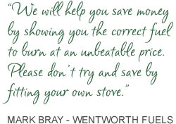Mark Bray - Wentworth Fuels Quote